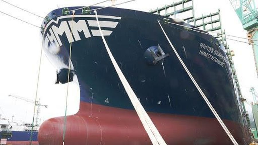 Hàn Quốc chuẩn bị ra mắt tàu container lớn nhất thế giới