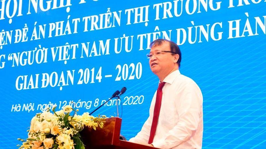 Hàng Việt chiếm trên 90% trong các siêu thị