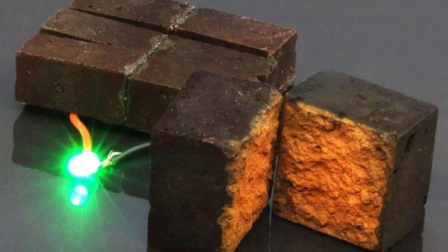 Công nghệ biến gạch xây nhà thành pin tích điện
