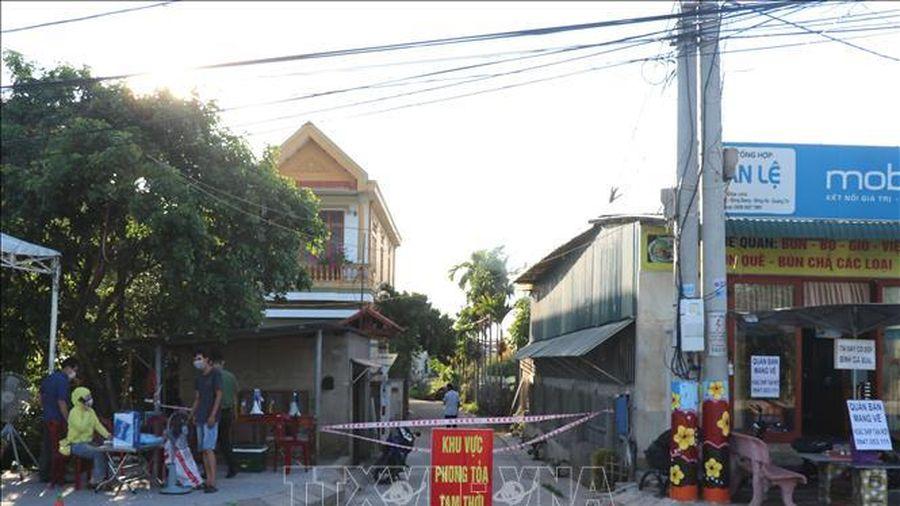 Quảng Trị thành lập tổ giám sát ở tất cả khu dân cư