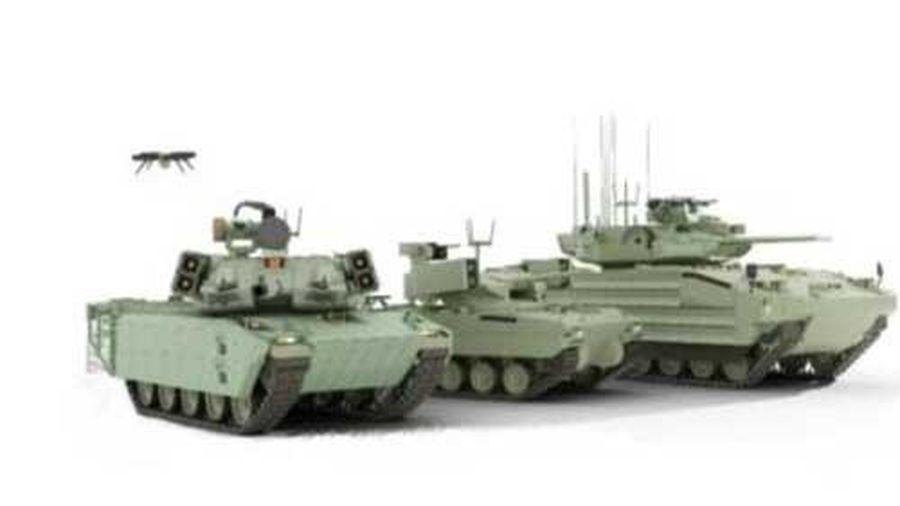 Mỹ phát triển xe chiến đấu tương tự Terminator của Nga