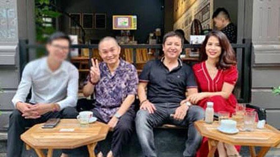 Đưa bạn gái đi cafe cùng danh hài Xuân Hinh, nghệ sĩ Chí Trung được khen ngày càng trẻ, phong độ hơn