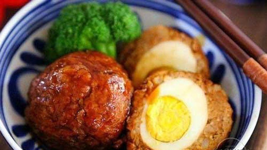 Món trứng bọc thịt băm thơm ngon lạ miệng, cả nhà thích mê