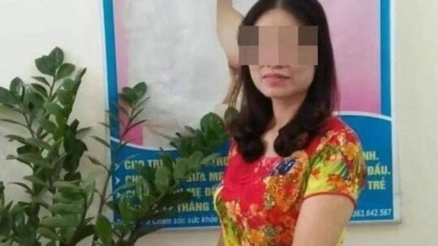 Nữ phó trưởng khoa sản đầu độc cháu nội ở Thái Bình bị khởi tố