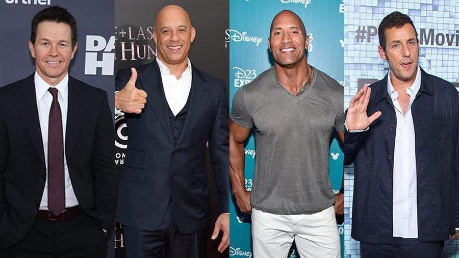 'The Rock' hưởng lương cao nhất Hollywood