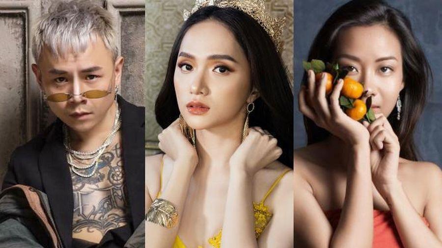 Hương Giang là mỹ nhân hot nhất Vbiz tuần qua trên Facebook