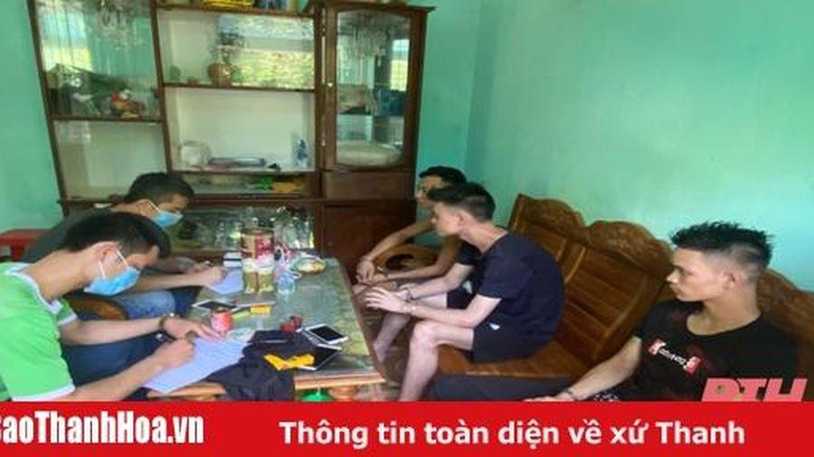 Triệt phá 'boong ke' ma túy tại thị trấn Sao Vàng