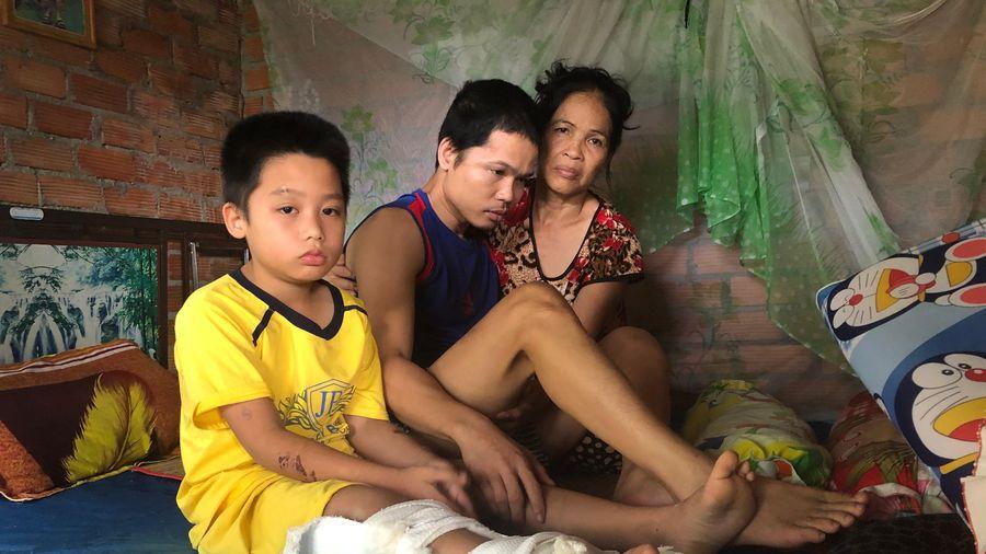 Gia đình nghèo liên tiếp gặp tai họa