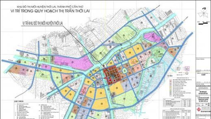 Khu đô thị mới huyện Thới Lai