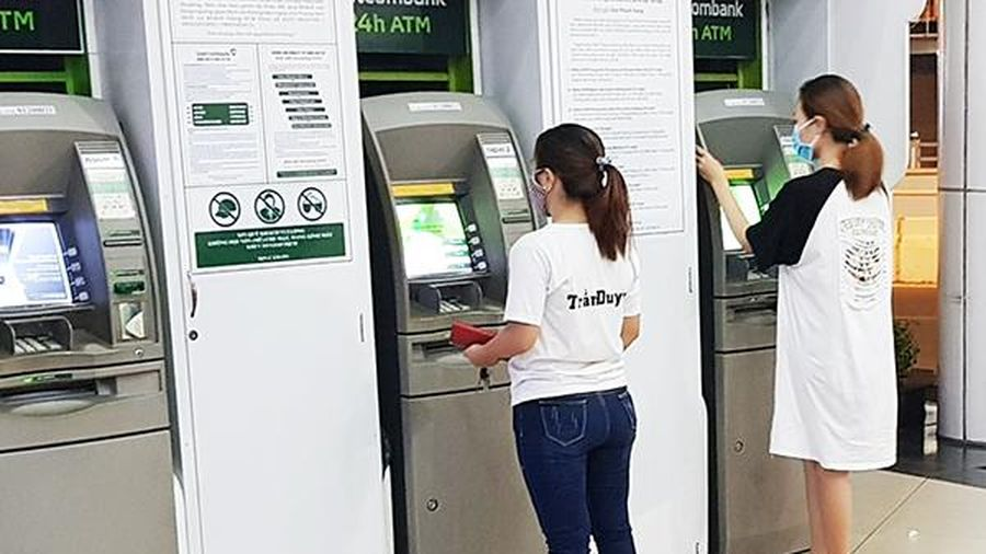 Tỷ lệ lắp đặt máy ATM trên địa bàn tỉnh đạt 22,7 máy trên 100 ngàn dân