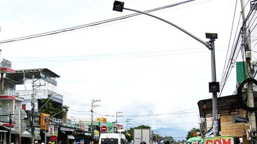 Cần sửa chữa đèn cảnh báo về giao thông