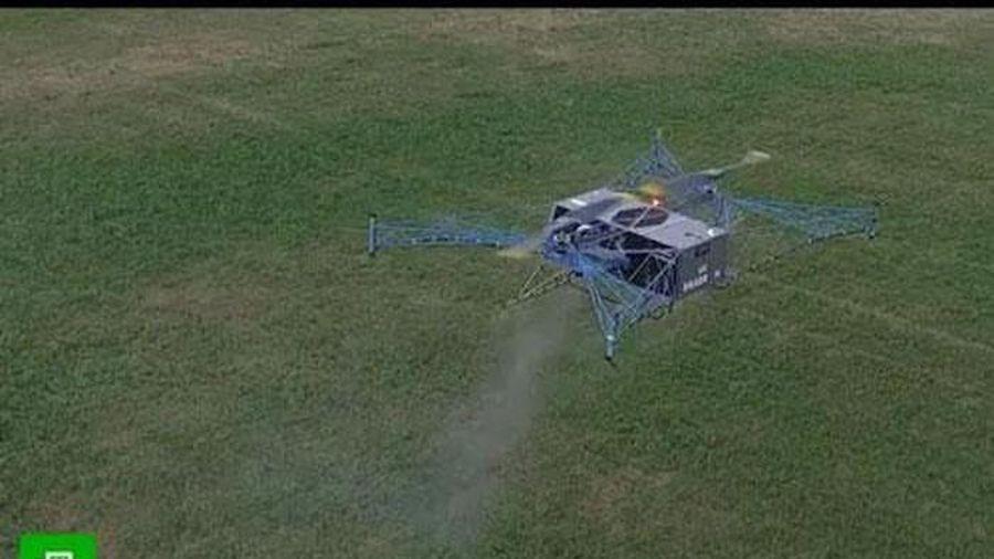 Nga công bố video thử nghiệm máy bay không người lái công nghiệp nặng đầu tiên