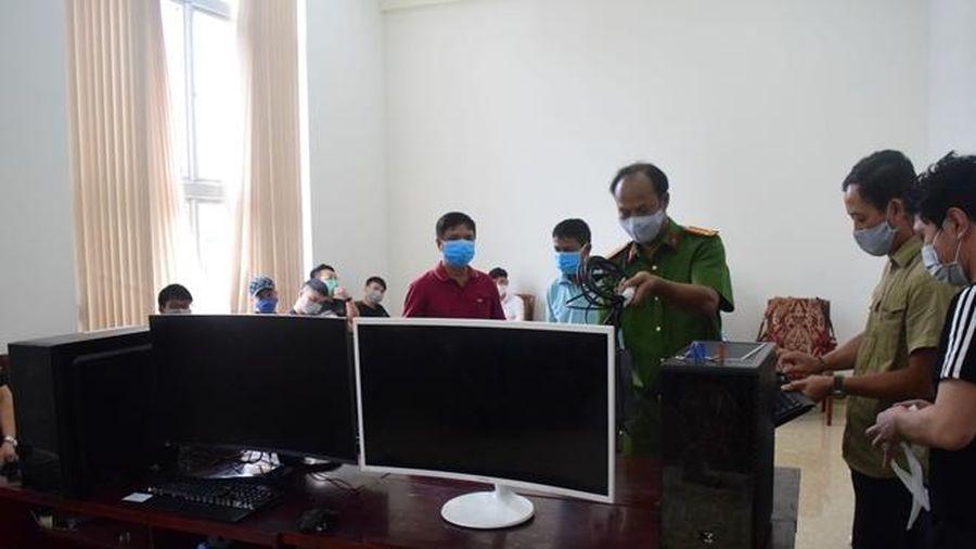 Xử phạt 7 người Trung Quốc thuê khách sạn đánh bạc trực tuyến