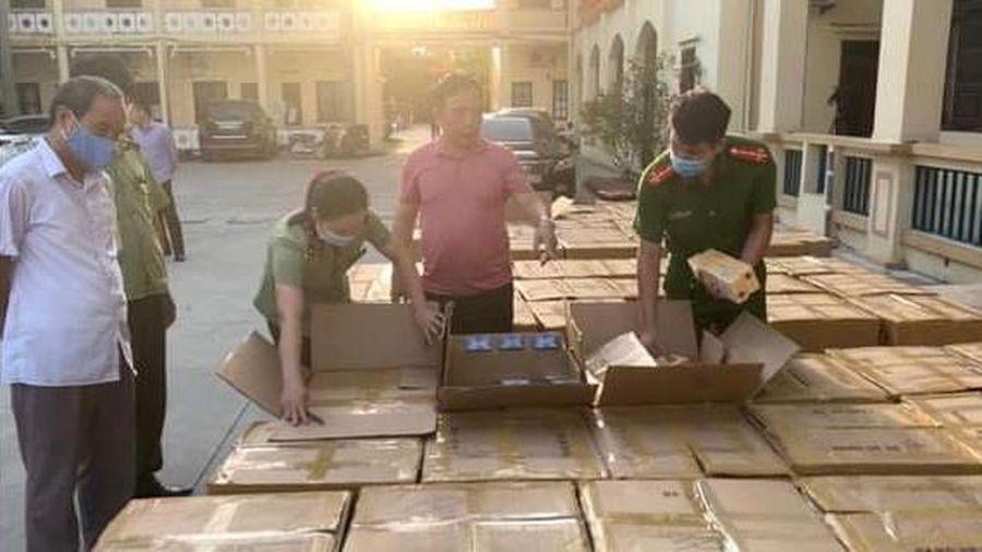 Hưng Yên bắt giữ vụ buôn lậu thuốc lá lớn nhất từ trước đến nay