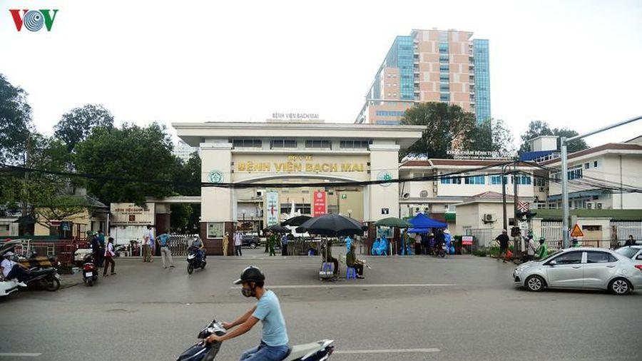 Bệnh viện Bạch Mai lên tiếng về thông tin có ca mắc Covid-19