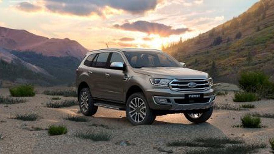 Ford Everest vượt lên dẫn đầu phân khúc SUV hạng trung