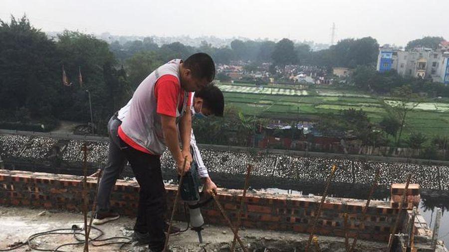 Giao cho cấp huyện tiếp tục quản lý Đội Quản lý trật tự xây dựng đô thị