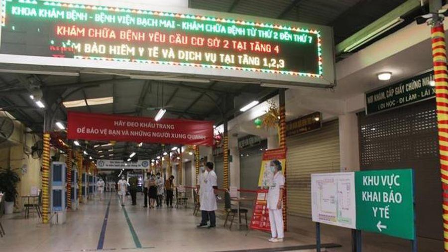 Bệnh viện Bạch Mai bác bỏ tin đồn có bệnh nhân Covid-19