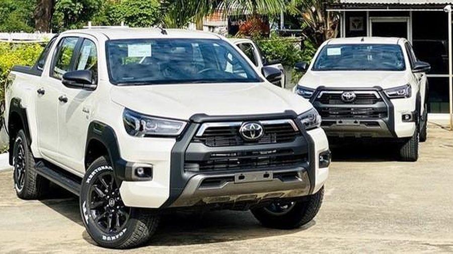 Lộ thông số Toyota Hilux 2021 sắp bán tại Việt Nam: Động cơ mạnh, thêm công nghệ an toàn tiên tiến đấu Ford Ranger