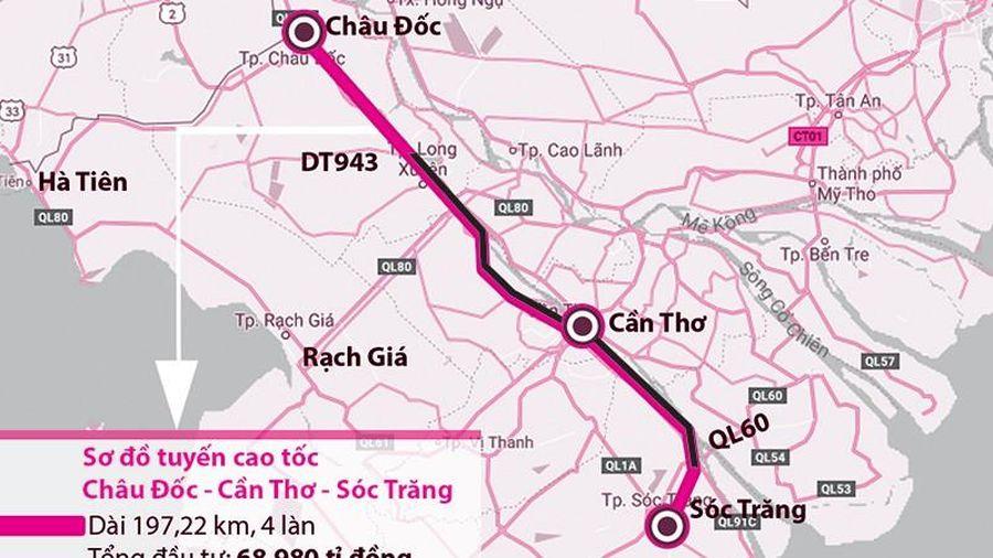 Mong mỏi cao tốc Châu Đốc - Cần Thơ - Sóc Trăng