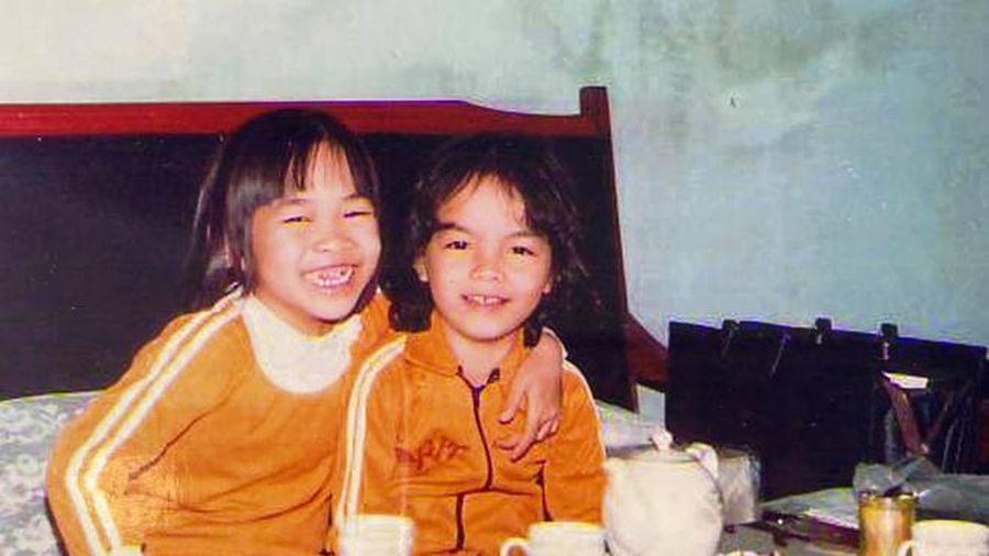 Phạm Quỳnh Anh đăng ảnh thời thơ ấu