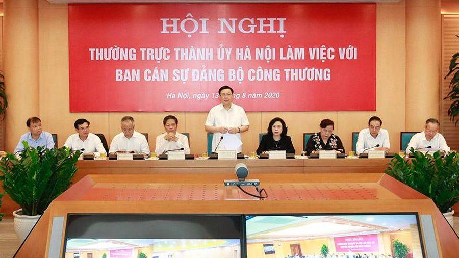 Bí thư Thành ủy Vương Đình Huệ: Xây dựng Hà Nội thành địa phương đứng đầu về thương mại điện tử