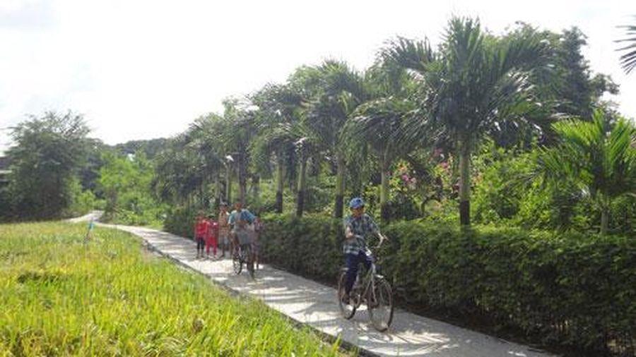 2 huyện, thị xã của tỉnh Tiền Giang đạt chuẩn nông thôn mới