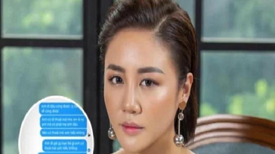Văn Mai Hương công khai tin nhắn 'dằn mặt' người yêu cực phũ