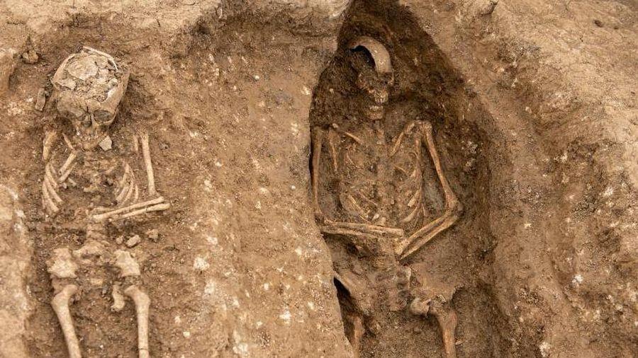 Kinh hoàng phát hiện 'thành phố người chết' có hơn 100 hài cốt cổ đại