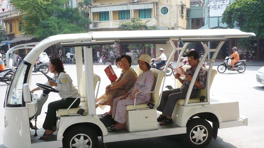 Mở rộng hoạt động ô tô điện tại Hà Nội