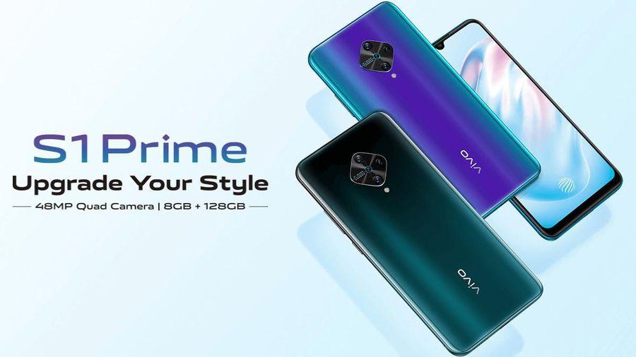 Vivo S1 Prime ra mắt: Snapdragon 665, camera 48MP, giá 284 USD