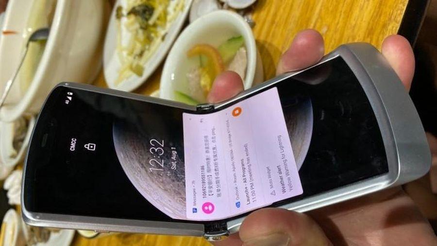 Moto Razr màn hình gập thế hệ tiếp theo sẽ ra mắt ngày 9/9