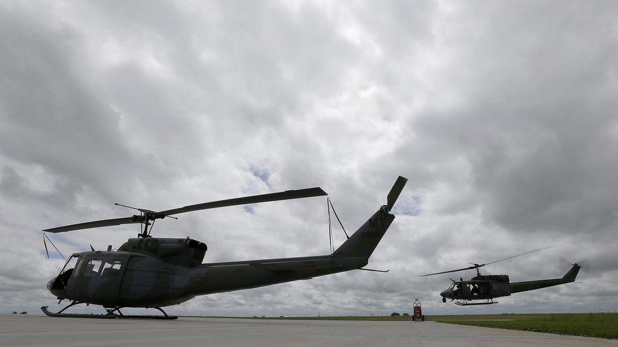Mỹ: Trực thăng quân sự bị bắn khi đang huấn luyện tại bang Virginia