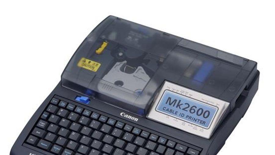 Canon lần đầu ra mắt máy in mã trên dây cáp tại thị trường Việt Nam