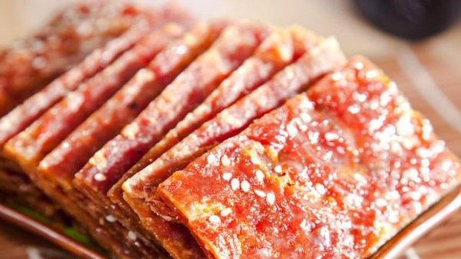 Rảnh rỗi làm thịt bò khô kiểu này lai rai, cả nhà đều thích