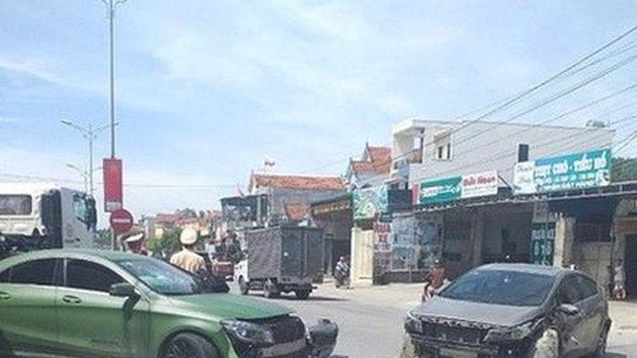 Nghệ An: Truy tìm tài xế xe ben gây tai nạn liên hoàn rồi bỏ trốn