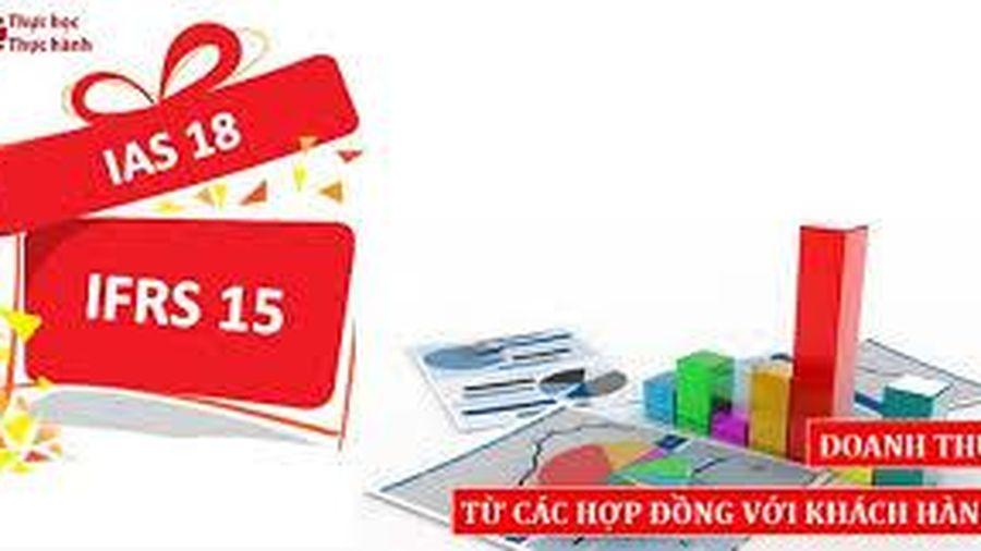 Ghi nhận doanh thu theo chuẩn mực kế toán quốc tế 'IAS 18 - doanh thu'