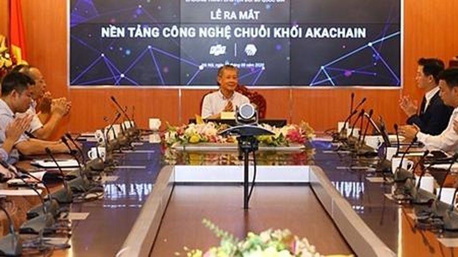 Ra mắt nền tảng công nghệ chuỗi khối akaChain đầu tiên tại Việt Nam