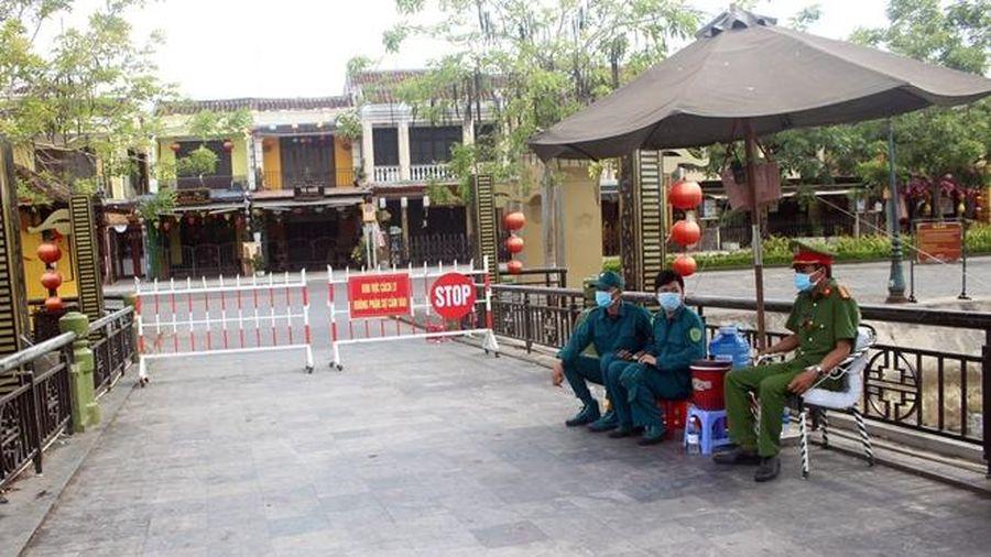 Phong tỏa khối phố An Hội tại Hội An thêm 7 ngày