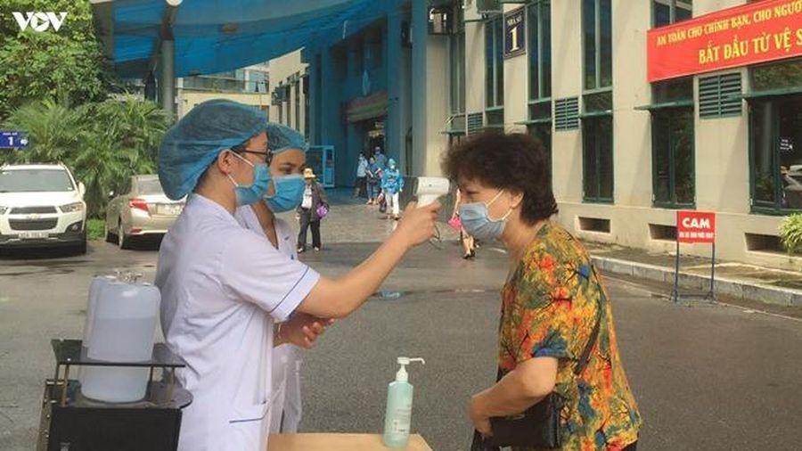 Các BV ở Hà Nội tăng cường kiểm soát lây nhiễm trong giai đoạn mới
