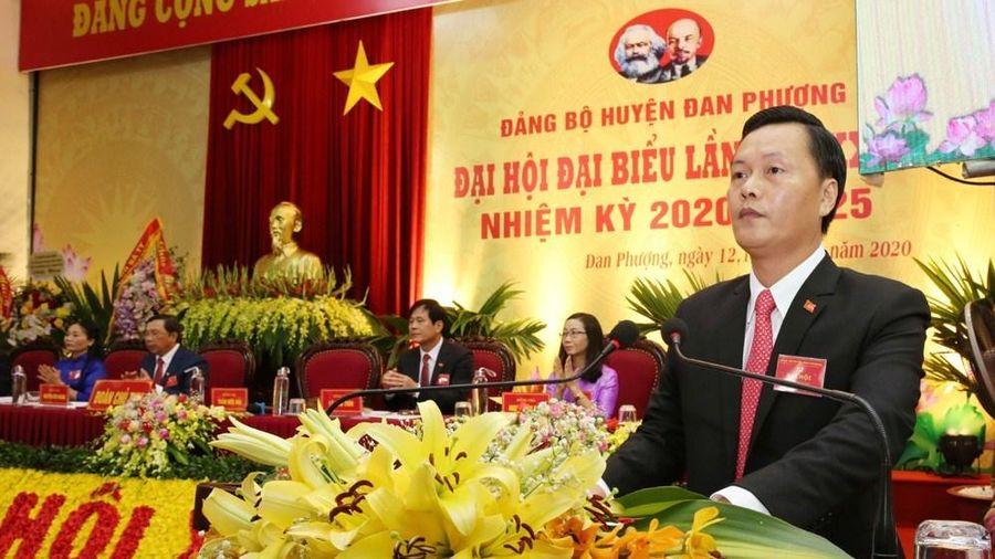 Đồng chí Trần Đức Hải tiếp tục được bầu làm Bí thư Huyện ủy Đan Phượng