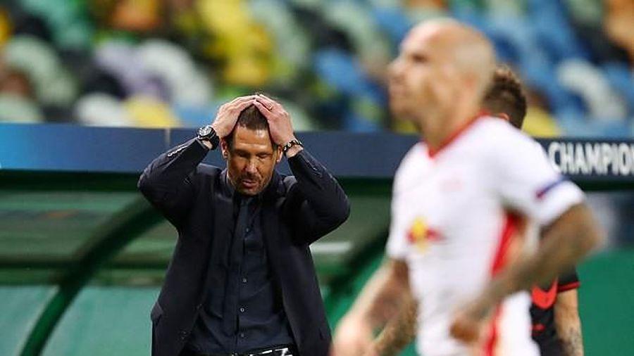 HLV Simeone bất lực vì Atletico Madrid không còn... thể lực