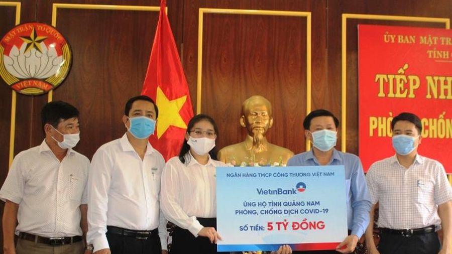 Quảng Nam tiếp nhận hơn 21 tỷ đồng hỗ trợ phòng, chống dịch