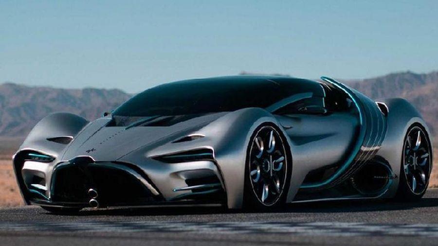 Hyperion XP-1, siêu xe chạy hydro chạy 0-100 km/h dưới 2,2 giây