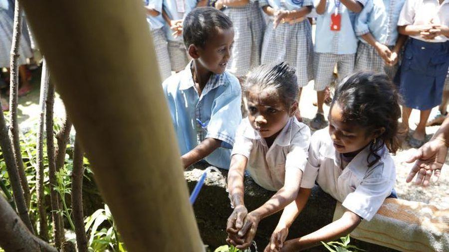 43% trường học trên toàn thế giới không đủ các điều kiện rửa tay cơ bản