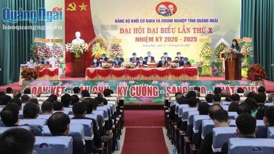 Đại hội đại biểu Đảng bộ Khối Cơ quan và Doanh nghiệp tỉnh lần thứ X