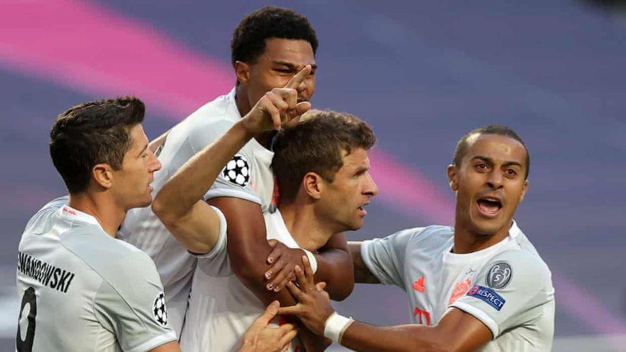 TRỰC TIẾP Barca 1 - 4 Bayern Munich: Hủy diệt