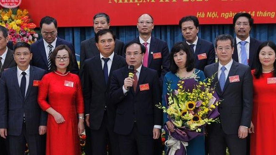 Thứ trưởng Nguyễn Văn Sinh được bầu làm Bí thư Đảng ủy Bộ Xây dựng nhiệm kỳ 2020 – 2025