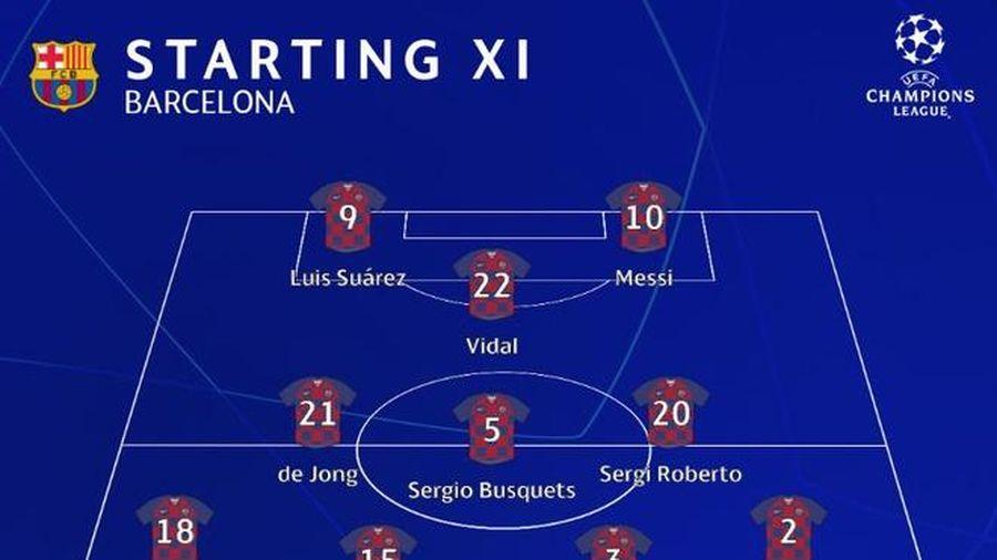 Barca 1-4 Bayern: Messi bất lực