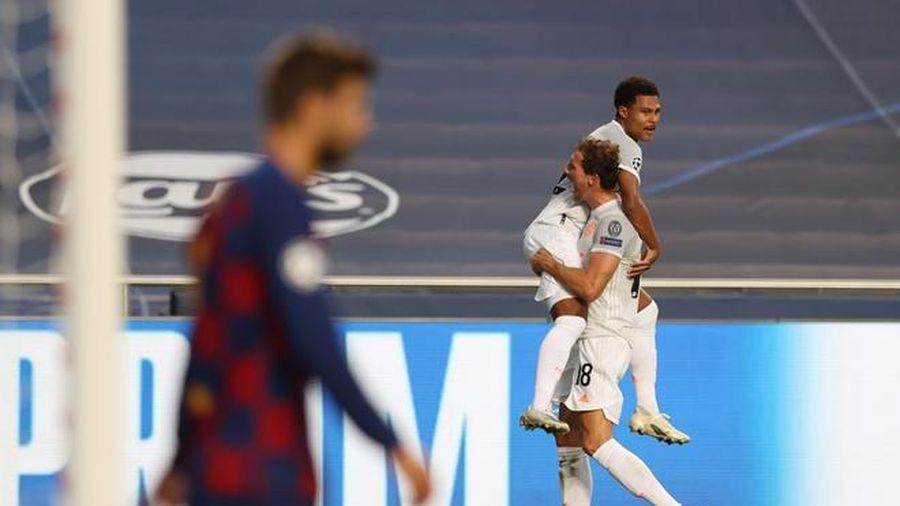 Pique sẵn sàng rời Barca sau trận thua 2-8 trước Bayern